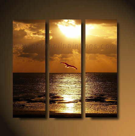 Dafen Oil Painting on canvas seascape painting -set613